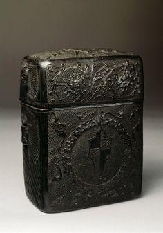 """design-is-fine: """" Book box, 1475-1500. Leather, Venice. Private Collection. Via RBA """""""