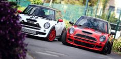 "Superturismo LM 17"" and Ultraleggera 18"" on Mini Cooper S JCW #mini"