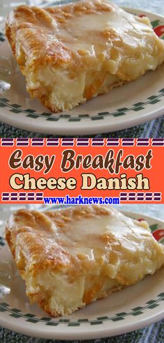 Easy Breakfast Cheese Danish This Cheese Danish recipe is so easy to make, that yes, even my husband has made this one before Breakfast Cheese Danish, Breakfast Pastries, Breakfast Items, Breakfast Dishes, Breakfast Recipes, Gourmet Breakfast, Sunday Breakfast, Breakfast Cookies, Strudel