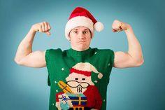 Sugarplum Jolly Holiday, Ugly Sweater, Santa Hat, Tis The Season, Christmas Sweaters, Seasons, Stock Photos, Holiday Decor, Hats