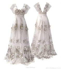 Claire Pettibone Madame Butterfly... This is too fancy, but soooooo pretty!