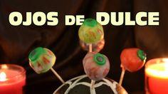 Ojos de goma de mascar FACIL   Recetas para Día de Muertos y Halloween