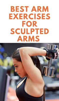 We've taken our time to come up with easy exercises you can engage in for sexy, sculpted arms. Although toning your arms is more than just the looks: It is good for your fitness and overall health. Easy Workouts, At Home Workouts, Arm Toning Exercises, Tummy Exercises, Weight Exercises, Arm Flab, Sculpted Arms, Best Weight Loss, Losing Weight