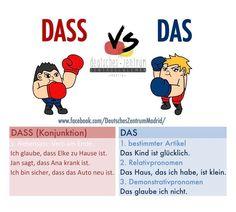German German Grammar, German Words, Learn French, Learn English, German Resources, Deutsch Language, Germany Language, German Language Learning, English Language