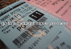 Or just a late night movie and maybe half apps after