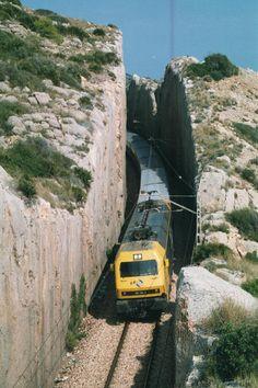 """La """"via verda"""" Benicàssim - Orpesa, anys 90 © xavi.masadas"""