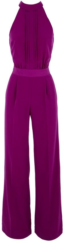 Purple jumpsuit from Warehouse (a UK company)