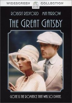 Jay Gatsby & Daisy Buchanan from the 1974 version of The Great Gatsby - we'll see how Leonardo DiCaprio and Carey Mulligan stand up to Robert Redford and Mia Farrow! Jay Gatsby, Gatsby Style, Gatsby Book, 1920s Style, Mia Farrow, Scott Fitzgerald, Old Movies, Great Movies, Leonardo Dicaprio