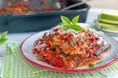 Fitness recepty s vysokým obsahom bielkovín Lasagna, Tofu, Food And Drink, Low Carb, Meat, Chicken, Cooking, Ethnic Recipes, Diabetes