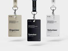 Identity Card Design, Graphic Design Brochure, Branding Design, Brand Identity, Id Design, Badge Design, Corporate Design, Corporate Identity, Employee Id Card