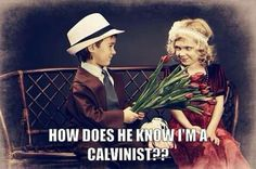 Haha so sweet. New theology take on the classic rose. :)