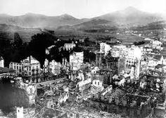 Spain - 1937. - GC - Operación Rügen, el bombardeo de Guernica. Gernika bonbardaketa ostean - 26.abril 1937.