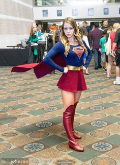 "cosplayandgeekstuff: "" AZ Supergirl (USA) as Supergirl. Photos by: Alvin Johnson Photography """