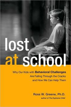 Greene highlights a very different way of understanding children that have behavioral issues in school. He believes, and convinces the readers, that all children prefer to behave and do well and succeed in school, and when they don't, it is because they truly can't.