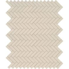 Domino Herringbone Mesh Mounted Porcelain Mosaic Tile in Gray offers a soft-toned gray color that complements nearly every design scheme. Its classic yet on-trend pattern and glossy finish create visual inter Ceramic Mosaic Tile, Marble Mosaic, Mosaic Wall, Wall Tiles, Backsplash Tile, Stone Mosaic, Porcelain Tile, Best Floor Tiles, Herringbone Tile