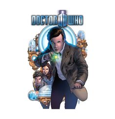 """Doctor Who Series 3 Vol 1: The Hypothetical Gentleman The Doctor is back! New York Times bestselling writer Andy Diggle joins Eisner Award-winning artist Mark Buckingham as a shadow being emerges from a machine used to view alternate realities, stealing time from those he touches in order to become """"real."""" Can the Doctor save the Hypothetical Gentleman's latest victim?"""