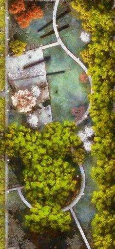 Landscape architecture project by Robobear0510.deviantart.com