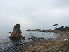 Shores at Akitani. Japan.