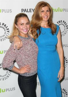Twice as Nice: Connie Britton and Hayden Panettiere attended an event for Nashville at PaleyFest in LA Saturday. Nashville Cast, Tami Taylor, Connie Britton, Girls Secrets, Romantic Comedy Movies, Tv Show Casting, The Mindy Project, Army Wives, Hayden Panettiere