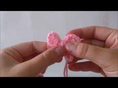 Passo a Passo Lacinho de crochê - YouTube