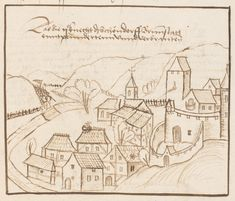 #brunstatt #germany #illuminations #city #medieval #middleages #castle #rempart #parchment #manuscript #illuminated #illuminatedmanuscript #oldcity
