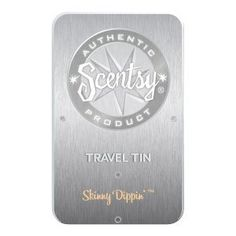 Scentsy Travel Tin Skinny Dippin Fragrance by Scentsy. $4.99. Leave in a locker, take in your car, enjoy anywhere you want your favorite fragrance.