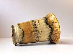 1930s Pottery Vase Mustard Yellow Knabstrup danish art deco Arne Bang Kahler era #ArtDeco http://www.ebay.com/itm/-/263222005649?