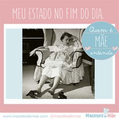 Quem é mãe entende... - Frases de mãe Laugh A Lot, Mom Day, Funny Memes, Quotes, Movie Posters, Family Is Everything, Funny Phrases, Well Said, Bubble Gum