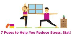 INFOGRAPHIC: 7 Breathing Exercises and Yoga Poses to Help You Reduce Stress