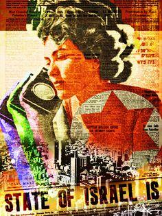 Listen Tel Aviv © Dan Groover - Pop Art -
