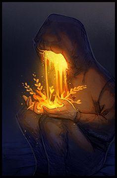 Echoes Of Fantasy Illustration Inspiration, Illustration Art, Dark Fantasy Art, Dark Art, Pretty Art, Cute Art, Deviantart Zeichnungen, Arte Obscura, Aesthetic Art