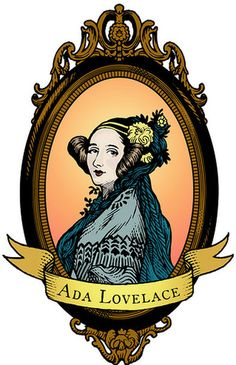 UK: Ada Lovelace – often referred to as the world's first computer programmer. Women we admire; influential women in history dolls World's First Computer, Computer Science, Computer Engineering, Computer Programming, Ada Lovelace, Women In History, Geek Stuff, Day, Feminism