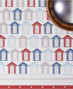 Beside the Seaside - Wallpaper from www.grahambrown.com