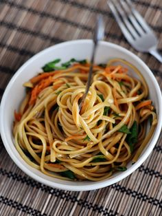 Spicy Thai Noodles -- ALSO TRY VERY SOON