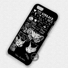 Styles Black Tattoo Art One Direction - iPhone 7 6s 5c 4s SE Cases & Covers