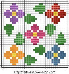 Resultado de imagen para jacquard crochet tutorial
