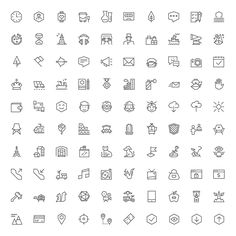 100 Free Icons From Ego Icons - GraphicArmy