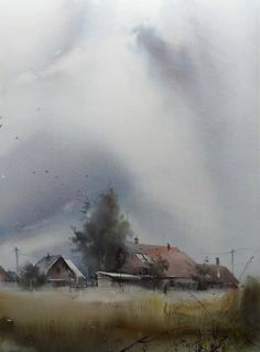 Watercolor by ilya ibraev: