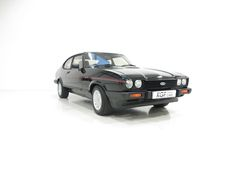 1985 Ford Capri 2.8 Injection Special. As offered for sale by KGF Classic Cars October 2016.   Image copyright KGF Classic Cars.