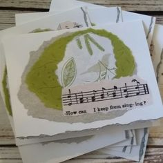 Songbirds and music!