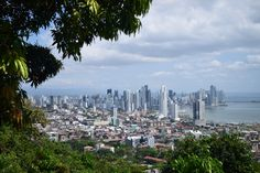 An amazing lookout of Panama city