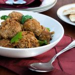 Meatballs in luscious curry   With A Spin