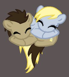Derpy x Doctor (No Tie Version) by Rainbow-Lizzard.deviantart.com on @DeviantArt
