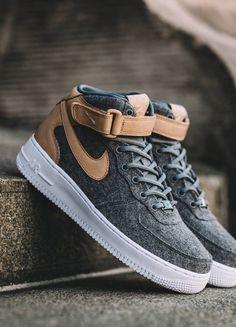 Nike Wmns Air Force 1 '07 Mid Leather Premium (via Kicks-daily.com)
