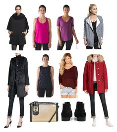 """Glorious Look"" by cate-jennifer on Polyvore featuring Sundry, Alo Yoga, lululemon, Steffen Schraut, Woolrich, Boohoo, Forever 21 and vintage"