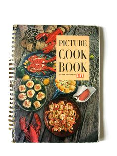 Life Picture Cook Book Large Color Vintage Book 1963 by VintageCommon on Etsy