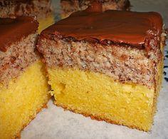 Zutaten :  -140 g Butter  -100 g Zucker  -5 Eigelb  -100 g Mehl  -50 g Speisestärke  -10 g Backpulver  -125 ml Sahne, (Obers)  Für d...