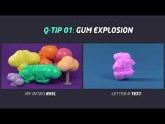 Cinema 4D Tutorial : QUICK TIP : TEXT INTRO GUM EXPLOSION - YouTube