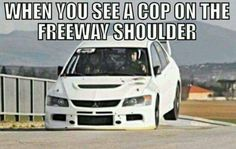 When you see a cop on the freeway shoulder. Car Throttle 03/26/16.