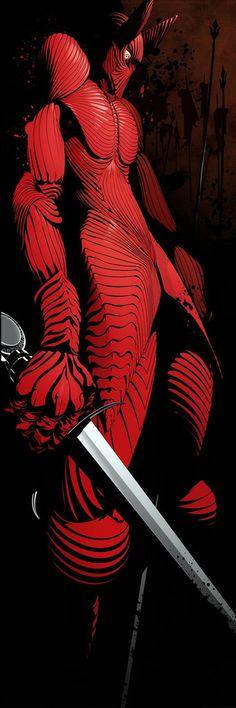 """Count Dracula in Anubis Armor"" by Tohru Patrick Awa #woc2ol"